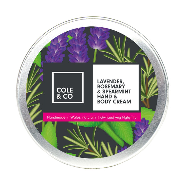Lavender, Rosemary & Spearmint Hand & Body Cream
