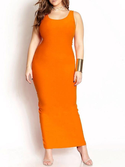 Wholesale  Basic Maxi Dress