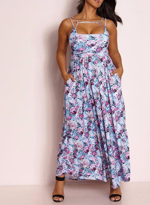 Wholesale Caged Maxi Dress