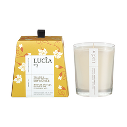 LUCIA No3 SOY WAX CANDLE 20h