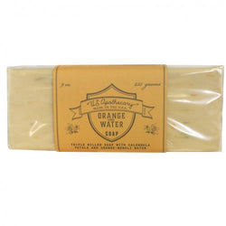 US APOTHECARY ORANGE FLOWER WATER BAR SOAP