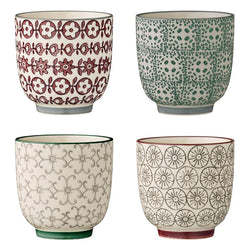 CERAMIC CUPS, 4 STYLES