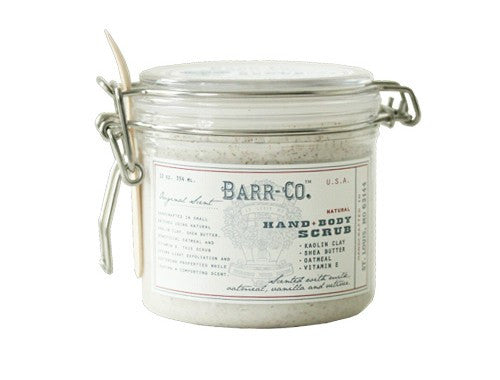 BARR-CO HAND & BODY CLAY SCRUB