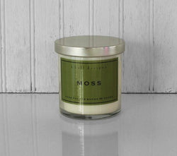 K HALL DESIGNS MOSS JAR CANDLE