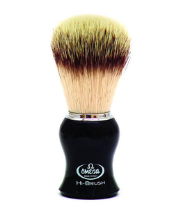 OMEGA PREMIUM SYNTHETIC FIBER SHAVING BRUSH