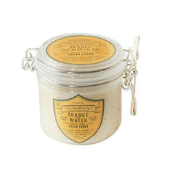 US APOTHECARY ORANGE FLOWER WATER SUGAR SCRUB