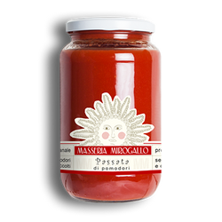 MASSERIA MIROGALLO TOMATO SAUCE (CLICK FOR OPTIONS)