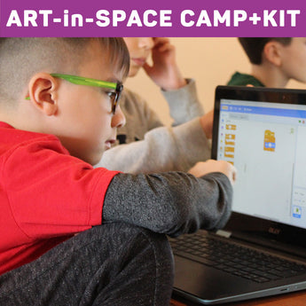 Art-in-Space Camp + Kit (Reservation)