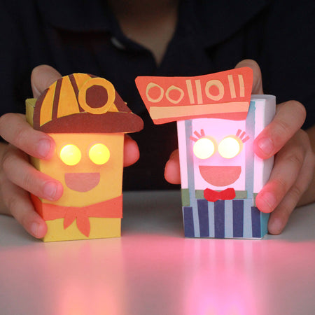 Paperbot Kit - DIY paper craft robot