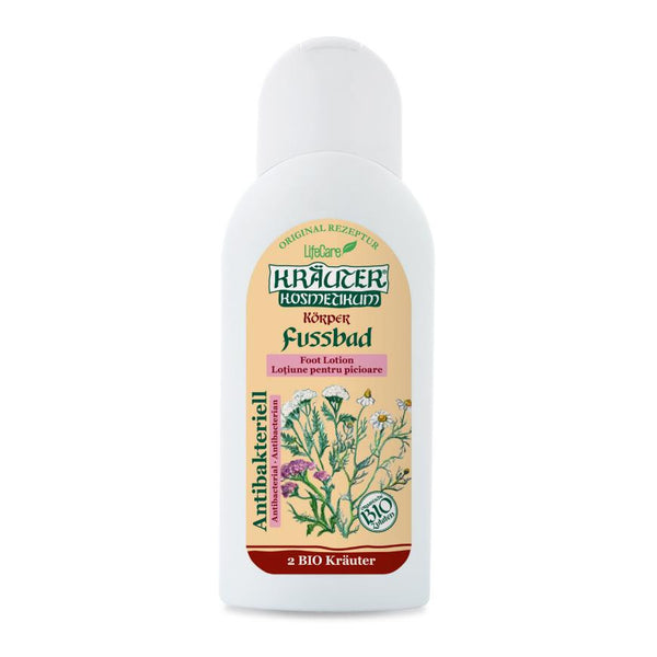 Antibacterial foot lotion with BIO herbs Kräuter®