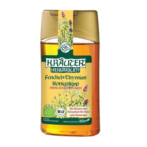 Honey ECO syrup against coughing, with fennel and thyme Kräuter
