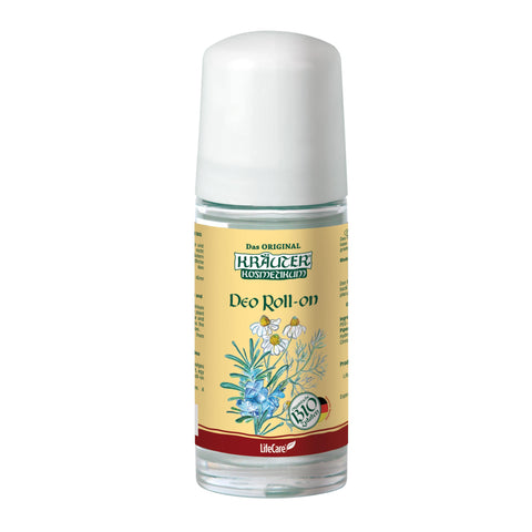 Antiperspirant Deo roll-on with BIO chamomile and rosemary