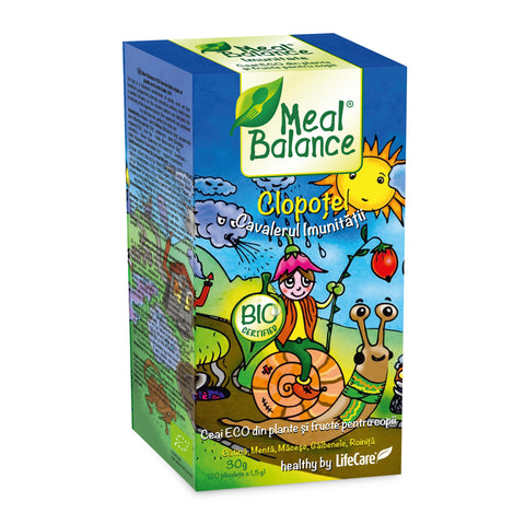 ThinkerBell - Immunity Knight. Immunity boosting herbal tea ECO for children Meal Balance®