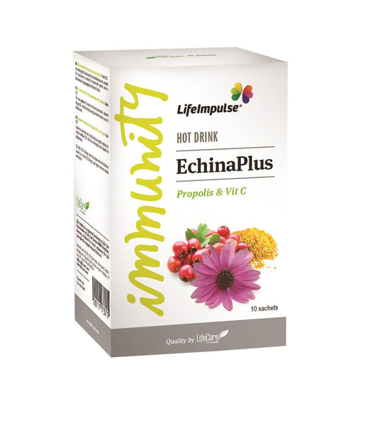 Life Impulse® EchinaPlus with echinaceea, propolis and vitamin C