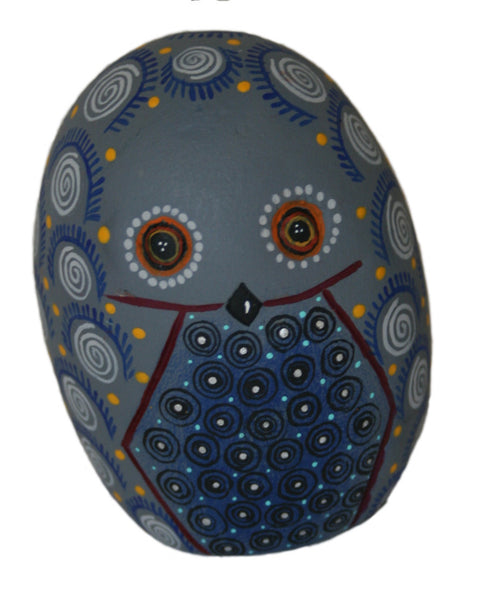 Little Boludo Owls - Traditionnel Alebrijes