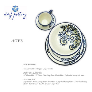 Talavera Tableware Model Aster