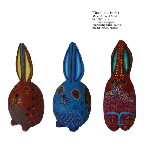 Little Rabbit - Traditional Alebrijes