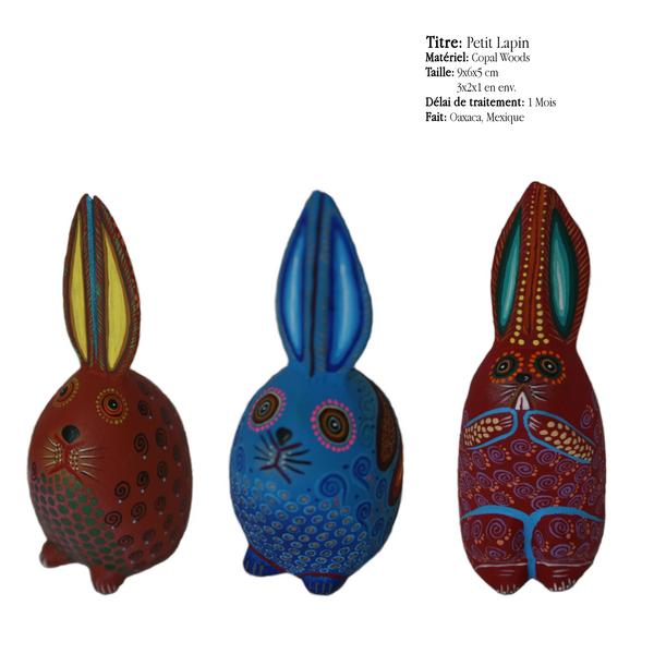 Petit Lapin - Traditionnel Alebrijes