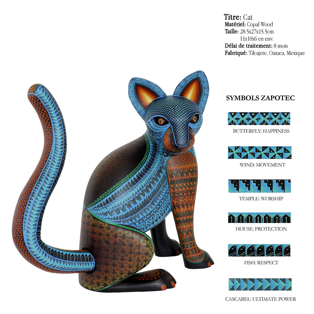 Cat - Qualité Alebrijes