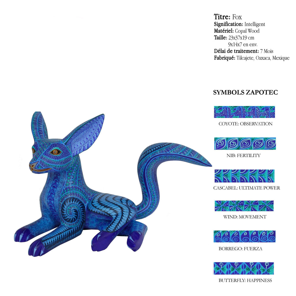 Fox - Intelligent - Qualité Alebrijes