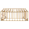 10X20 Standard Chicken Run Kit