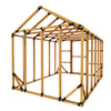 8X12 Standard Storage Shed Kit