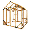 8X8 Standard Storage Shed Kit