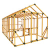 10X16 Chicken/Poultry Coop & Run Kit