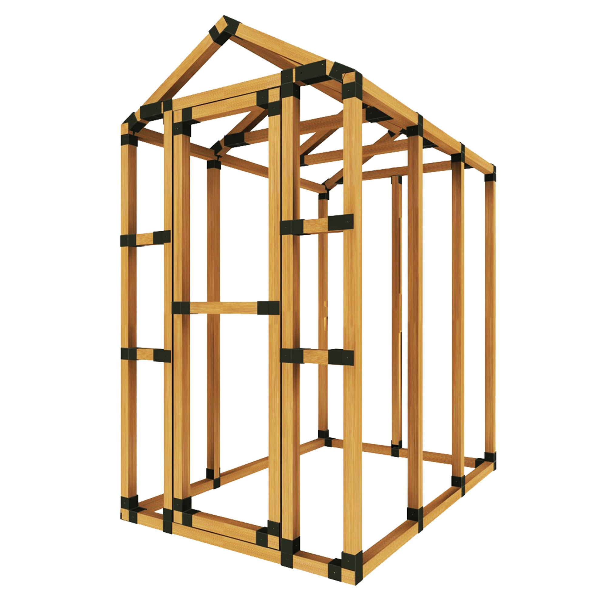 Basic Greenhouse - E-Z Frame Structures