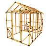 8X12 Chicken/Poultry Coop & Run Kit