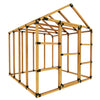 8X8 Basic Storage Shed Kit