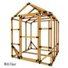 6X6 Standard Storage Shed Kit