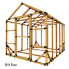 8X10 Standard Storage Shed Kit