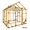 8X8 Large Playhouse Kit