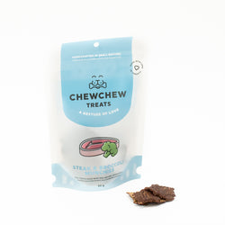 Steak & Broccoli Munchies - Chew Chew Treats - Healthy Organic Dog Treats