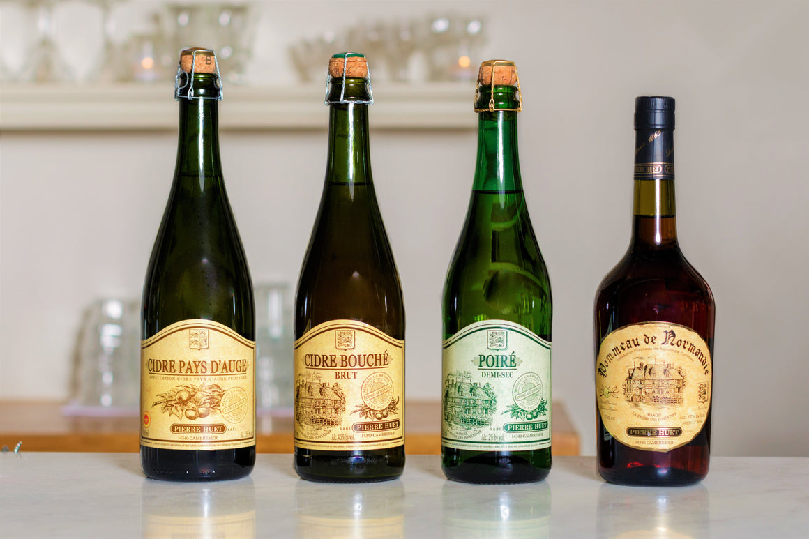 Holiday Apple and Pear Ciders from Pierre Huet