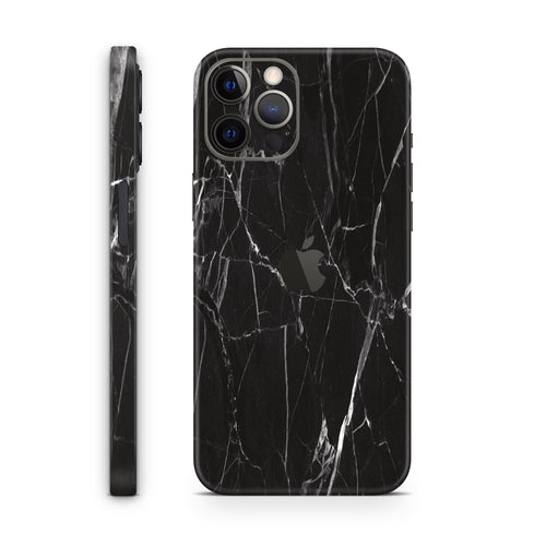 Black Marble (iPhone Skin)