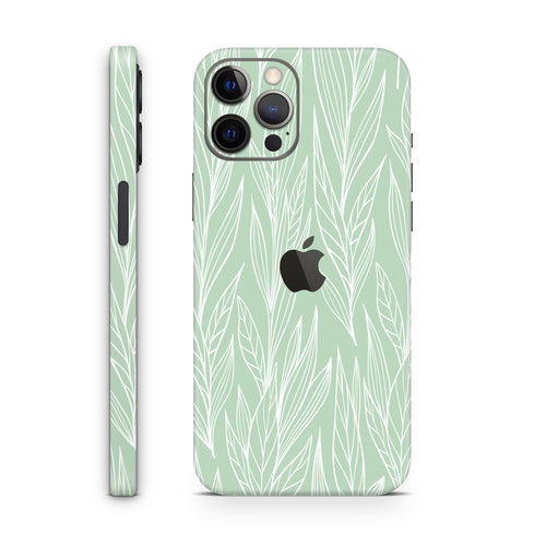 Mint Flora (iPhone Skin)