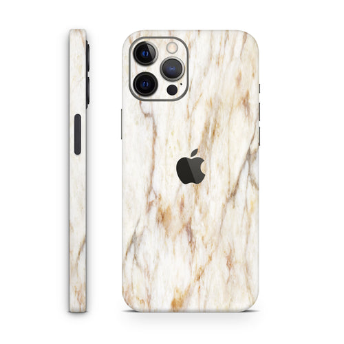 Vanilla Marble (iPhone Skin)