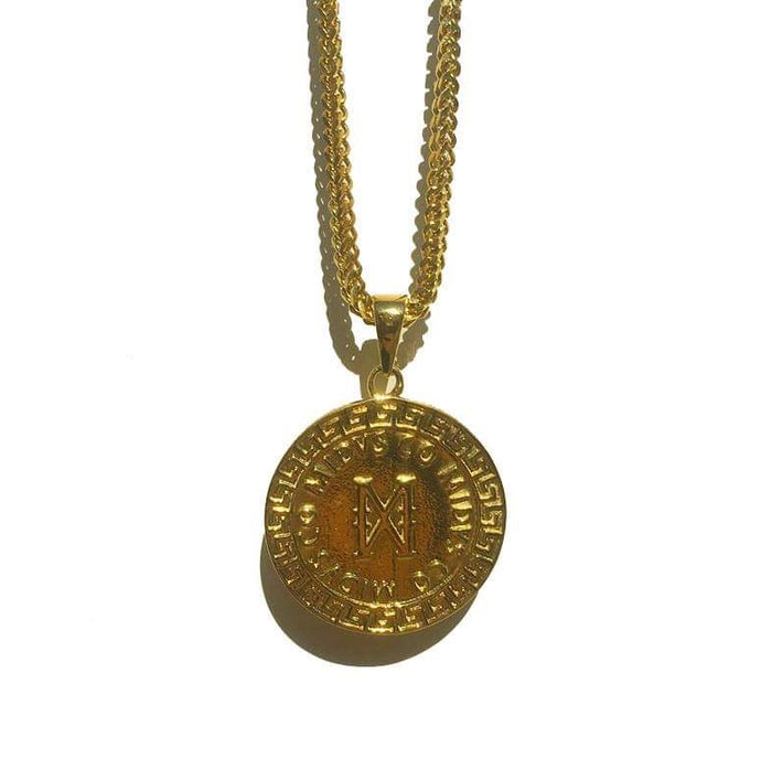 The 'Meander' Pendant - Gold