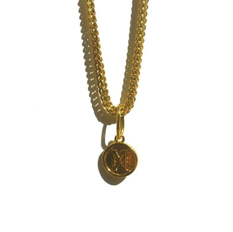 The 'Infinity X' Pendant - Gold