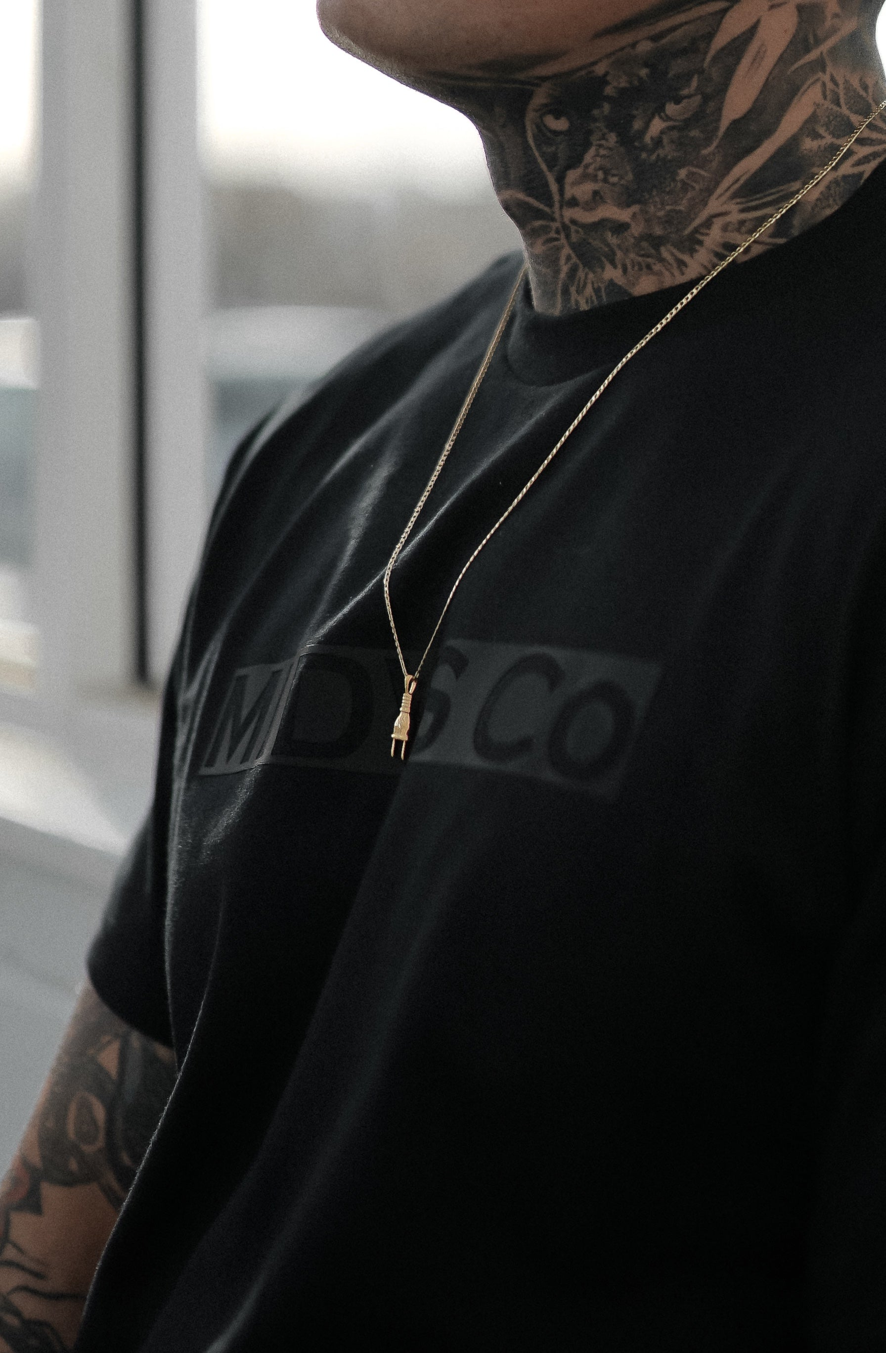 Midas Co Primo Box Logo Tee - Black