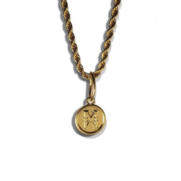 The 'Infinity X' Pendant - .925 Silver Vermeil