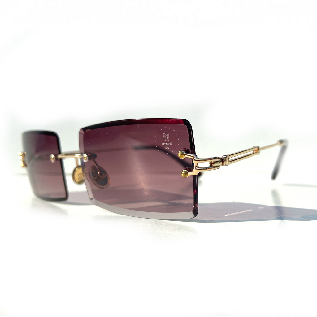 The Capone Shades Brown Smoke / Gold