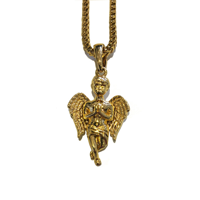 The 'Guardian' Micro Pendant - Gold