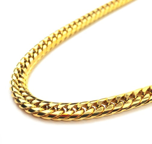 "Cuban Chain 18kt Gold | 24"" - 12mm"