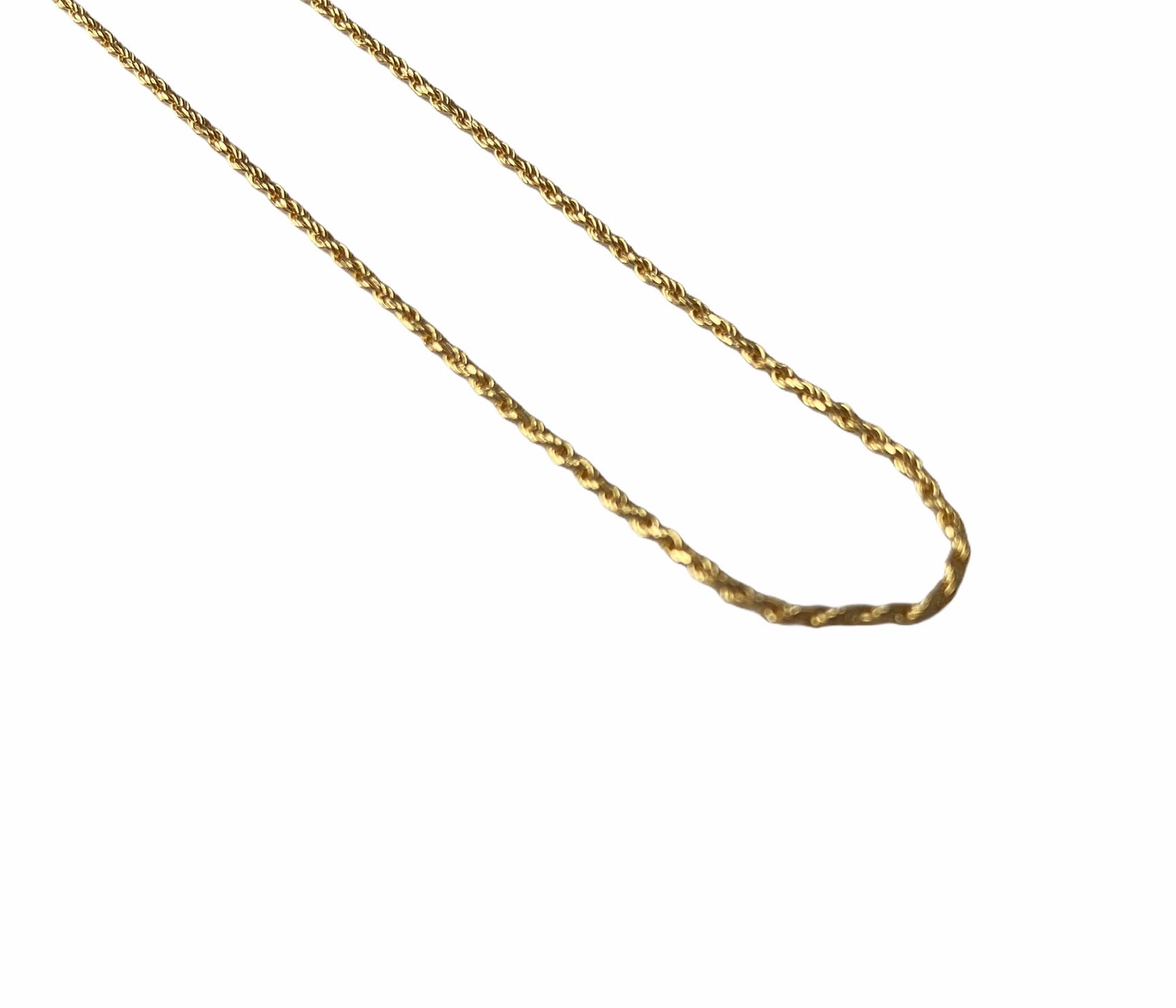 Rope Chain - 1mm | 18K Gold Vermeil