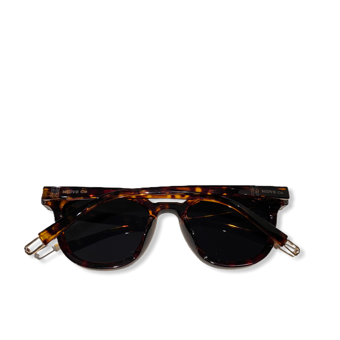 The Travis Shades Tortoise/ Black