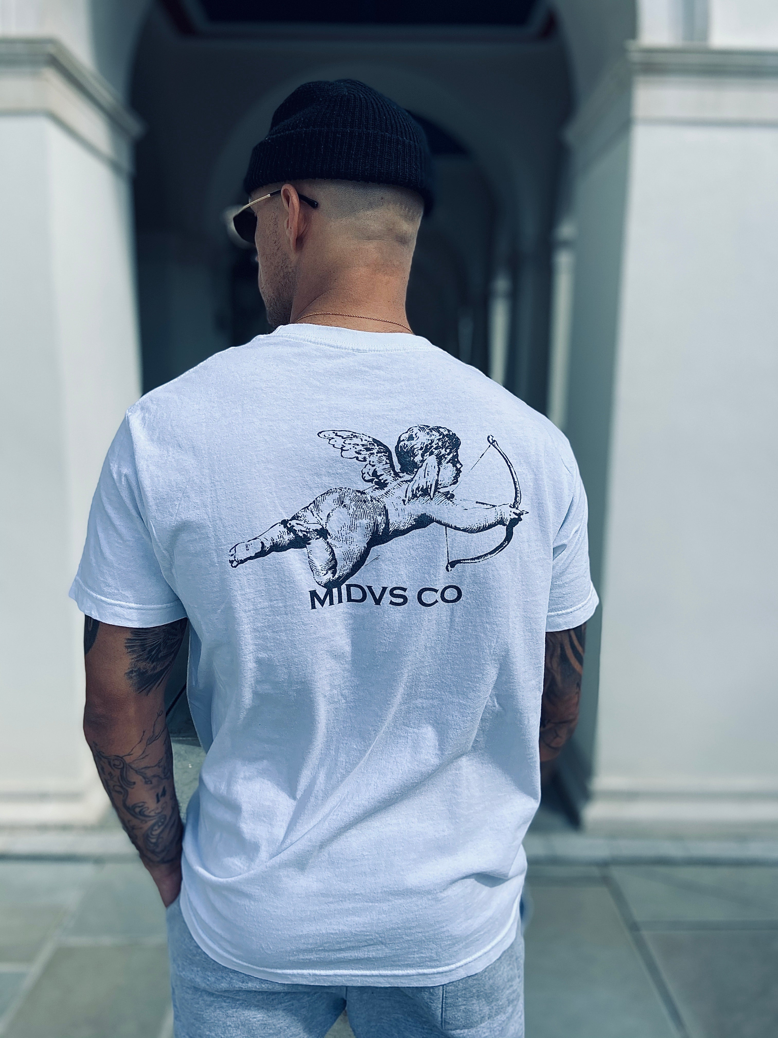 Midas Co Angels T Shirt - White