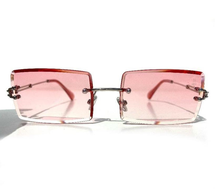 The Capone Shades Pink / Silver